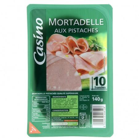 Mortadelle aux pistaches 140g CASINO
