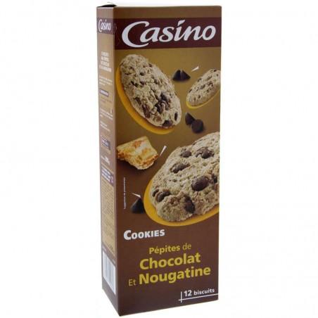 Cookies pépites de chocolat et nougatine 200g CASINO
