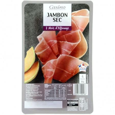 Jambon sec 80g CASINO