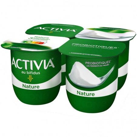 Activia - Yaourt nature 4x125g DANONE