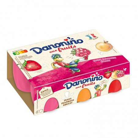 Danonino aux fruits Panaché 6x50g DANONE