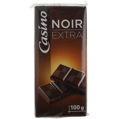 CASINO Chocolat Noir 3x100g